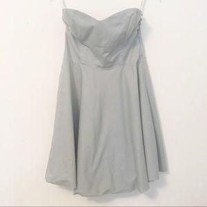 Aritzia Community Organic Cotton Strapless Dress